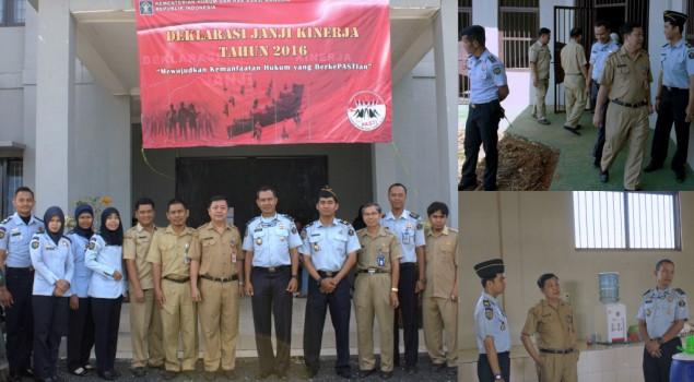 Peduli Kesehatan WBP, Lapas Banjarbaru Rangkul Dinkes Kota