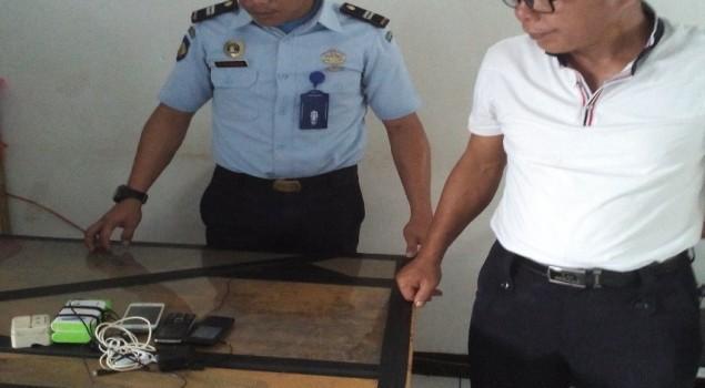 Tidak Ditemukan Narkoba, Lapas Ambon Amankan Handphone saat Razia
