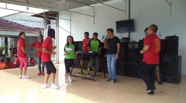 Riangnya WBP Lapas Lubuk Linggau Bernyanyi & Berjoget Bersama
