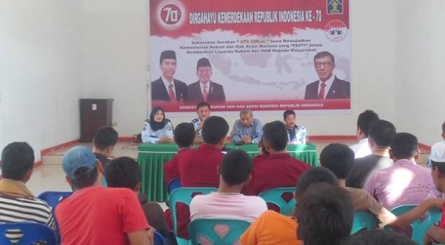 Lapas Padangsidimpuan - UMTS Teken MoU Penyuluhan Hukum WBP