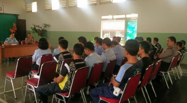 Rutan Wonosari Adakan Bimteknis & Koordinasi dengan Polres Gunungkidul