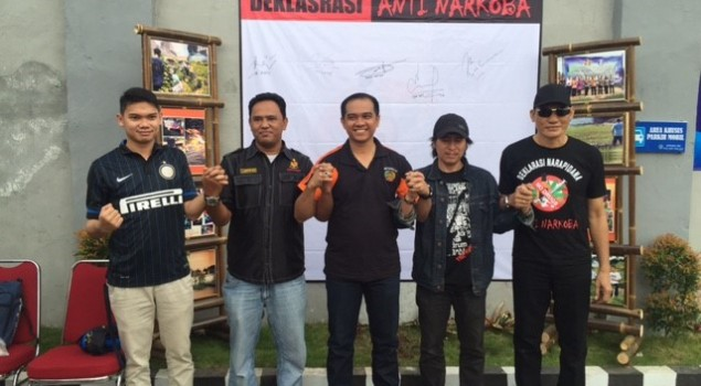 Kasat Narkoba Polres Lebak Puji Kreativitas WBP Rutan Rangkasbitung