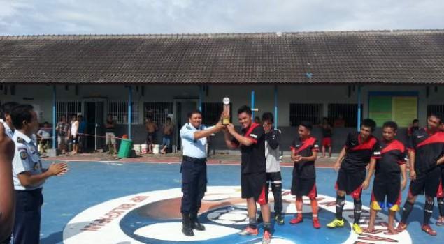 Belanak FC Menangi Liga Futsal Rutan Balikpapan
