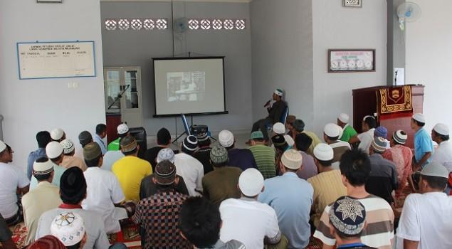 WBP Lapas Narkotika Palembang Dibekali Pelatihan Pengurusan Jenazah