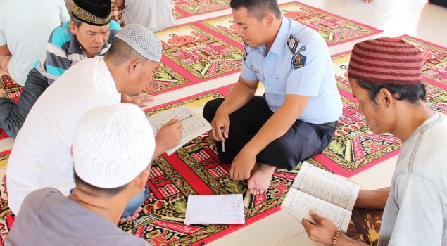 Bimbing Napi, Lapas Narkotika Palembang Gandeng Pesantren