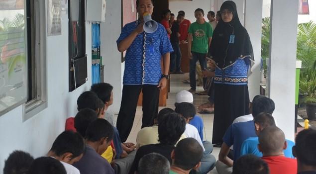 Lapas Narkotika Jakarta Peringati TB Day Dengan Penyuluhan