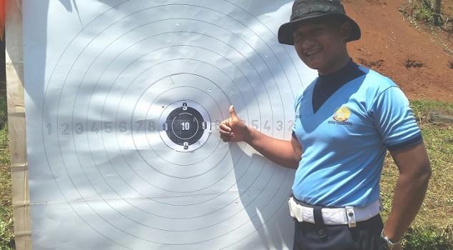 Latihan Menembak, Petugas Lapas Banjar Kalahkan Wakapolres Banjar