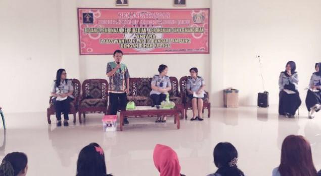 33 WBP Narkotika Lapas Wanita Lampung Direhabilitasi