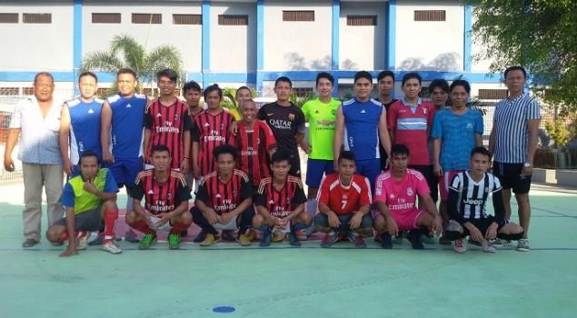 Tim Petugas Rutan Manado Juarai Turnamen Futsal