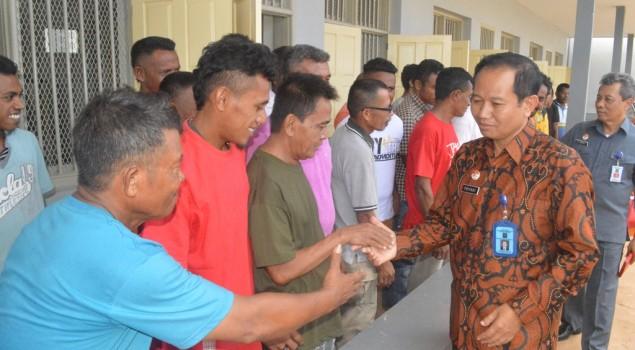 Kakanwil Maluku Kunjungi Gedung Baru Rutan Saumlaki