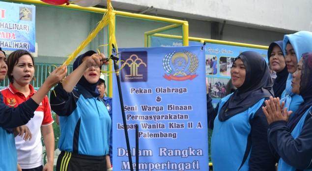 Porseni Lapas Wanita Palembang Resmi Dibuka