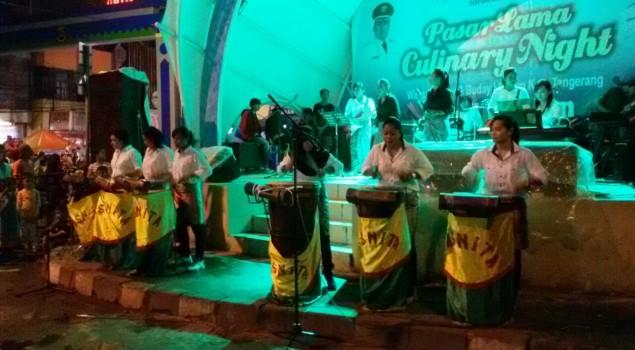 Grup Seni Lapas Wanita Meriahkan Kuliner Night Festival Kota Tangerang