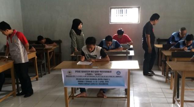 Hadapi UAN, WBP Lapas Watampone Lakukan Try Out
