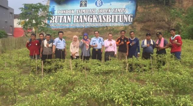 Bank Indonesia Banten Puji Pondok Asimilasi Rutan Rangkasbitung