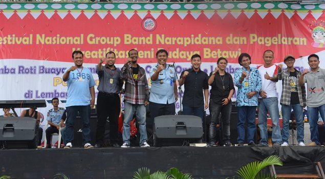 Lomba Group Band Meriahkan HUT Pemasyarakatan Ke 52