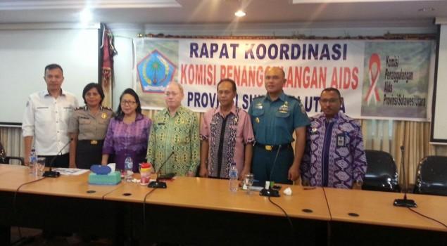 Berantas HIV/AIDS, Divisi PAS Sulut Kerjasama dengan KPA