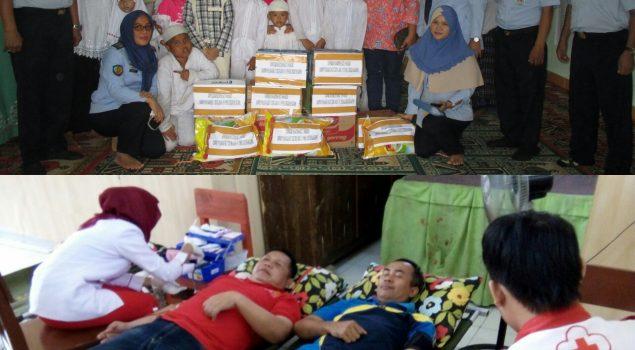 Ungkapan Kepedulian Rupbasan Palembang di Panti Asuhan
