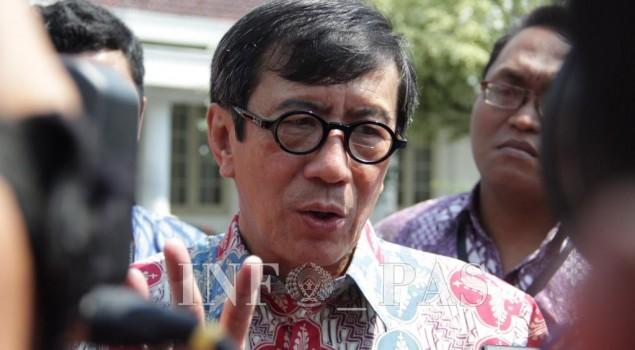 Menteri Yassona Akan Beli Alat Deteksi Narkotika Senilai Rp2 Miliar