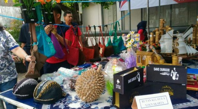 Balai Pemasyarakatan Yogyakarta Gelar Expo Klien