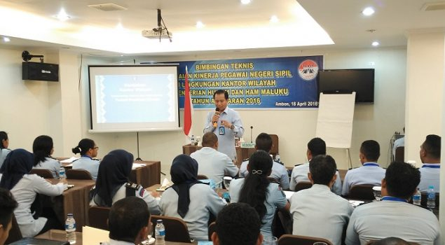 Kakanwil Maluku Tekankan Pentingnya Kompetensi Teknis, Manajerial, dan Perilaku