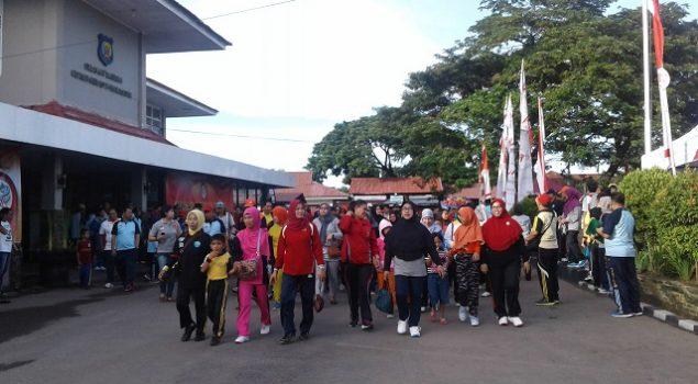 Peringatan Hari Bhakti PAS, Ada Jalan Santai & Lomba Voli