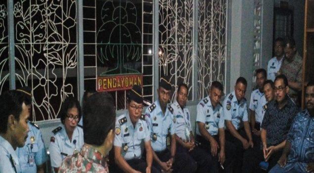 Irjen Wilayah III di Lapas Ambon: Petugas PAS Jangan Lagi Lakukan Kesalahan