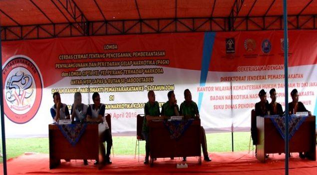 Lapas Narkotika Jakarta Gelar Lomba Cerdas Cermat WBP
