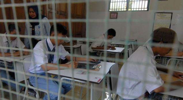 18 Napi Cirebon Ikuti UN di Ruang Khusus