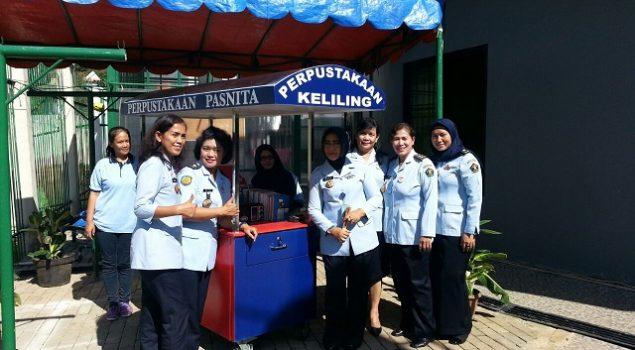 Lapas Wanita Tangerang Resmikan Laundry & Perpustakaan Keliling