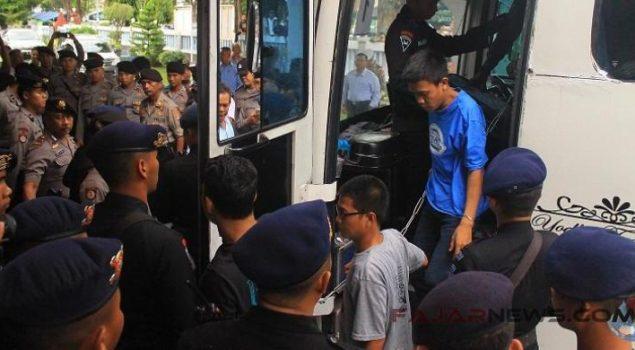 55 Narapidana Lapas Banceuy Tiba di Cirebon