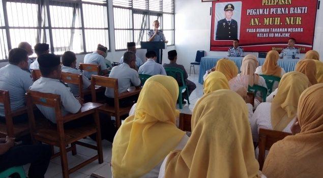 Masuki Purnabhakti, Kedisiplinan Komandan Jaga Rutan Majene Dipuji