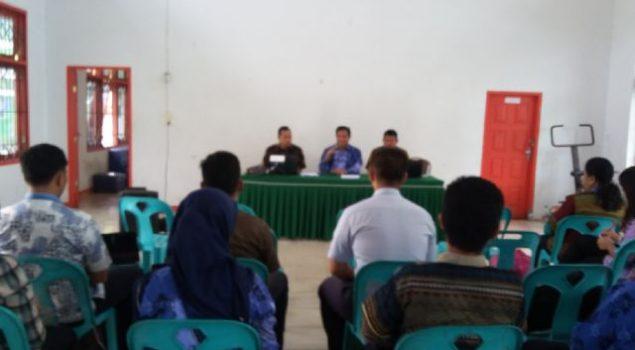 Lapas Padangsidimpuan Tuan Rumah Sosialisasi Simpeg Wilayah Tapanuli Selatan