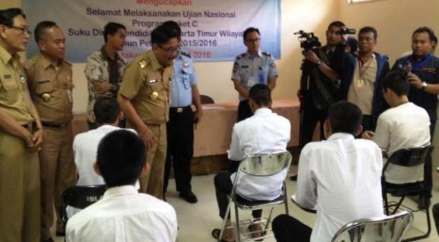 Wagub Djarot Pantau UN di Lapas Narkotika Cipinang