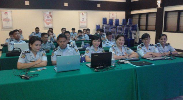30 Petugas Pemasyarakatan se-Sulawesi Utara Dibekali Pelatihan Komputer