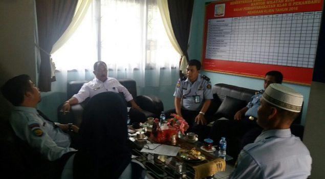 Tim Perencanaan & Pemetaan BMN Ditjen PAS Datangi Bapas Pekanbaru