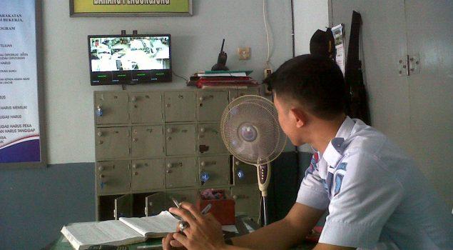 Siasati Kekurangan Personil, Rutan Masamba Lengkapi CCTV