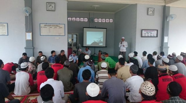 Pengajian & Doa Bersama Isi Isra Mi'raj di Lapas Narkotika Palembang