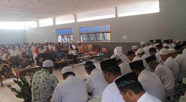 60 WBP Khatam Al Quran Saat Peringatan Isra Mi'raj di Lapas Ternate