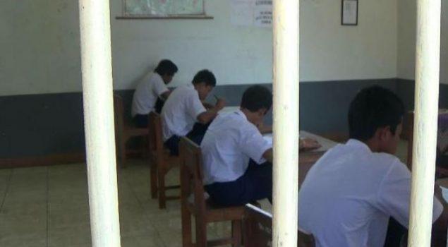 Delapan Warga Binaan Lapas Anak Tangerang Ikuti UN SMP