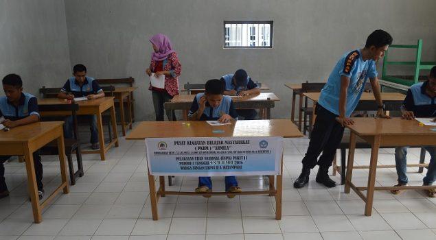 5 Orang WBP Ikuti UN Paket B di Lapas Watampone