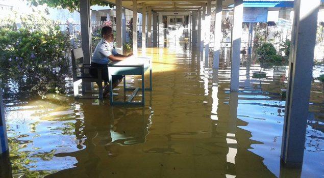Banjir Terjang Rutan Barabai, Semua Blok Terendam Air