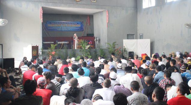 Ceramah Agama Sambut Ramadhan di Lapas Ciamis