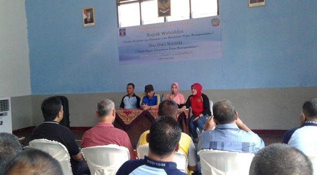 Dir. Watkes & Rehab Supervisi Penanggulangan TB/HIV di Rutan Makassar
