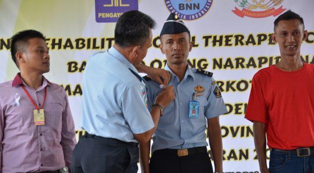 Program Rehab TC Terbesar Ada di Lapas Narkotika Jakarta