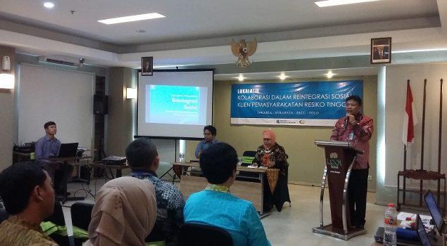 Ditjen PAS Gelar Lokalatih Kolaborasi dalam Reintegrasi Sosial Klien Risiko Tinggi