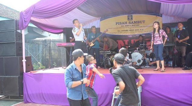 WBP Lapas Ciamis Dihibur Musik Dangdut Grup Montesa