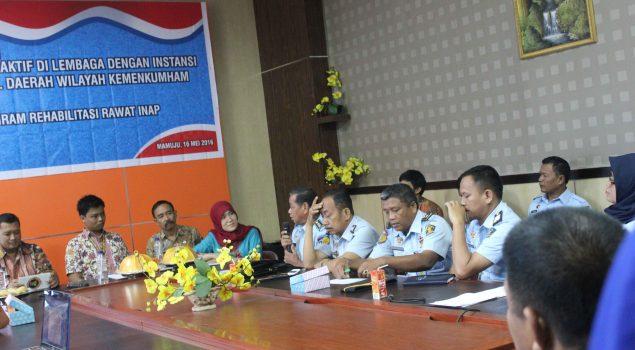 Divisi PAS & BNNP Sulbar Optimalkan Rehab Narkoba di Lapas Polewali