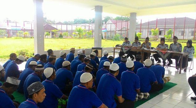 Lapas Banyuasin Kolaborasikan Rehab TC dengan Metode Keagamaan
