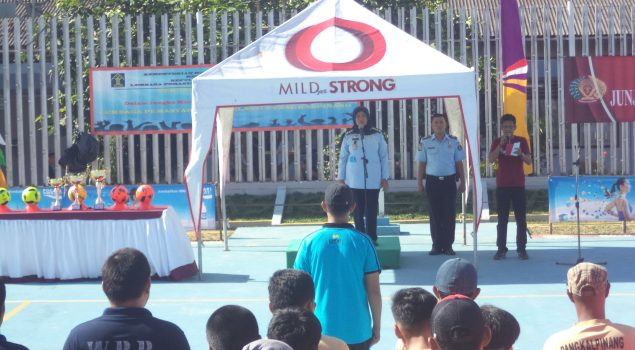 Turnamen Futsal Lapas Pangkalpinang Diikuti Puluhan Peserta