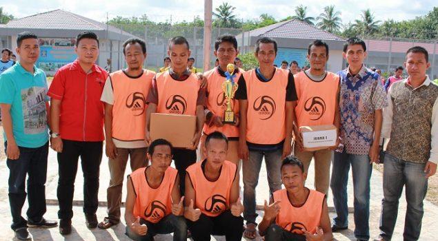 Tim Futsal Badar FC Juarai Liga Futsal Lapas Narkotika Palembang